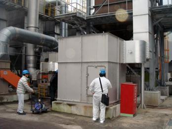 肥料製造工場