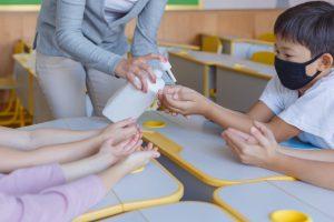学校や高齢者施設などでも安心してお使いになれます