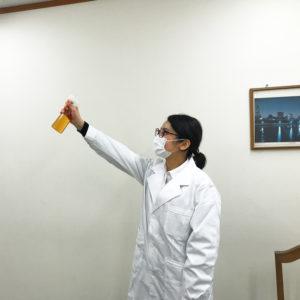 室内空間の除菌にエスポ・セフティNV