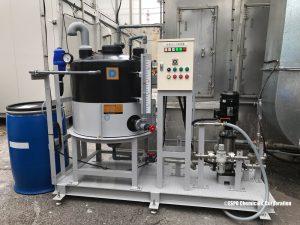 消臭剤噴霧式脱臭装置の例