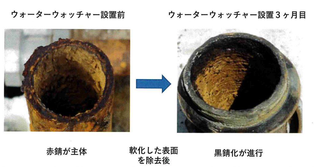 防錆対策事例(給水管)
